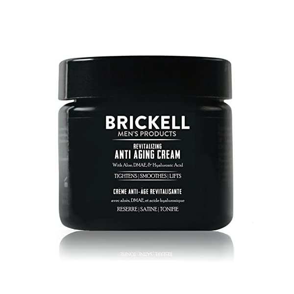 Anti aging products Brickell Men's Revitalizing Anti-Aging Cream For Men, Natural and Organic Anti