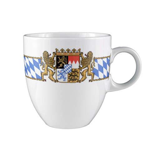 Seltmann Weiden 001.479426 Compact Bayern Becher 0,50 L, Blau/Weiß/Gelb/Rot