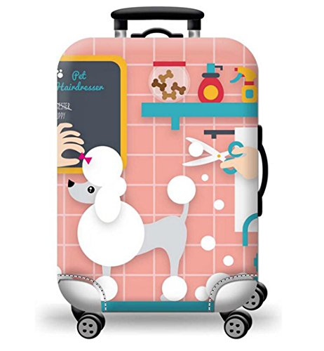 Printed Suitcase Cover