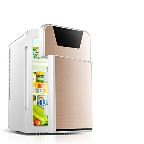 Lowest Prices! SXYY-22L Car Small Refrigerator Car Home Dual-Use, Mini Fridge, Applicable to Renting...