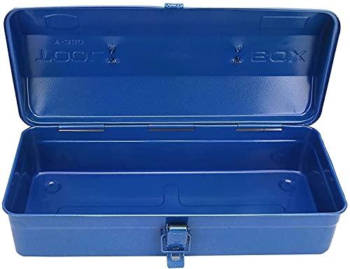 XJYXH Caja de herramientas portátil Caja de herramientas portátil con mango telescópico Espesado Multifuncional Organizador de hierro Funda de reparación de hardware de reparación de hardware contened