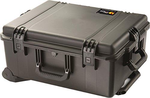 PELI Storm IM2720 Maleta Trolley fotográfico Resistente a los Impactos y estanca, 61L de Capacidad, Fabricada en EE.UU, con Espuma Personalizable, Color Negro