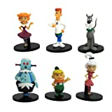 N\a 6 Piezas 6 Cm Hanna Barbera The Jetsons Collector Eorge Jetson Jane Jetson Figura Juguete Modelo Brinquedos Figuras Regalo