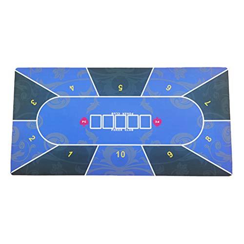 Rsoamy Pokerauflage, Spielfläche Poker Tischplatte für den eigenen Pokertisch - Deluxe Pokertuch – Pokerteppich – Pokertischauflage