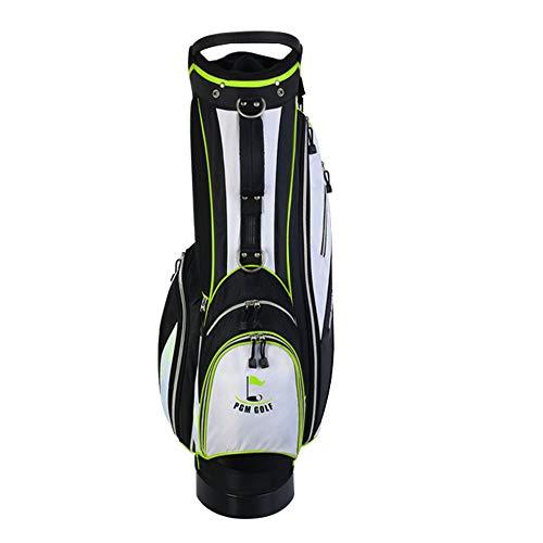 Golfschlägertasche Mit Standbeutel, Männer und Frauen Clubs packen 14 unabhängige Steckdosen. Der Kurs Golftasche mit Griffen, Junior Golfausrüstung ist Ultraleicht tragbar