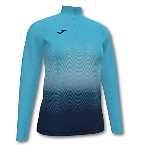 Joma Elite VII Sweater Homme, Turquoise/Bleu Marine, M