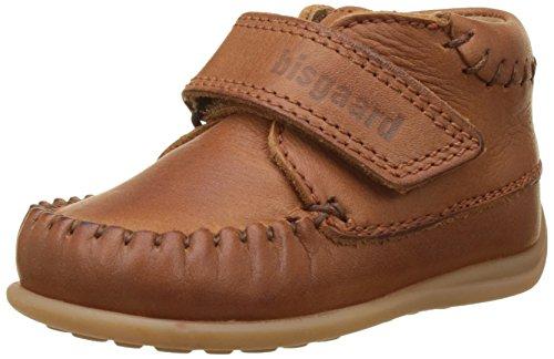 Bisgaard Unisex Baby Lauflernschuhe Sneaker, Braun (66 Cognac), 25 EU
