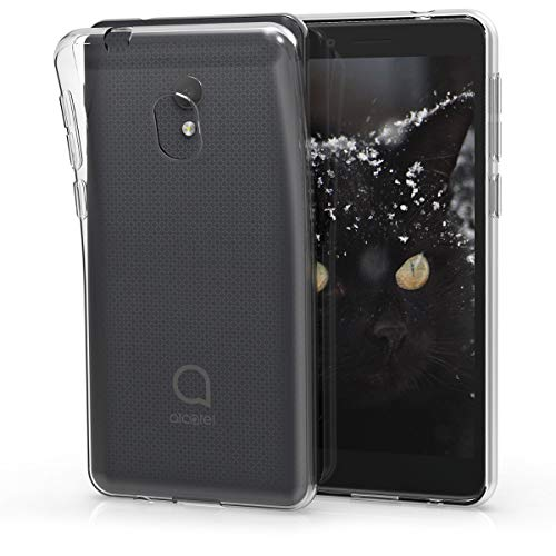 kwmobile Alcatel 1C (2019) Hülle - Handyhülle für Alcatel 1C (2019) - Handy Case in Transparent