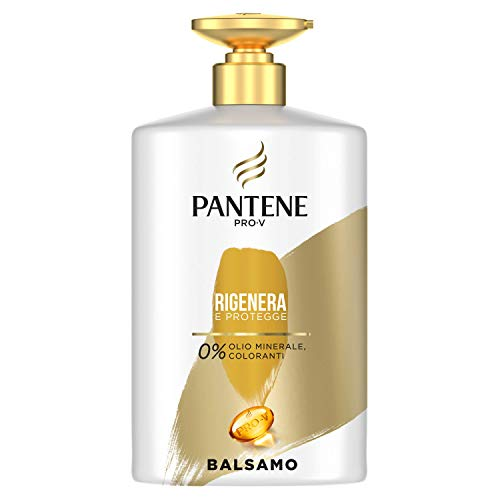 Pantene Pro-V Balsamo Rigenera & Protegge per Capelli Danneggiati, Maxi Formato da 900 ml