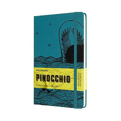 Moleskine Notizbuch - Pinocchio, Large/A5, Liniert, Gebunden, Walfisch