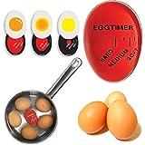 Tianhaik 1 unid. Huevos. Temporizador de cocción. Cambio de Color. Huevo Delicioso. Suave y Duro. Ayudante. Cocina Temporizador.