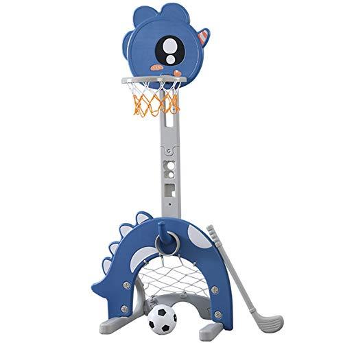 WRFD Soporte de Baloncesto Interior para niños Puede elevar el aro de Baloncesto 1-2-3-6 años de Edad Inicio de los niños Tiro para niños pequeños Juguete (Size : 162 * 70 * 50cm)