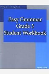 Easy Grammar 3 Paperback