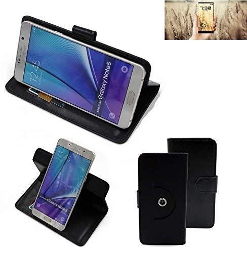K-S-Trade® Handy Hülle Für Allview X4 Soul Infinity N Flipcase Smartphone Cover Handy Schutz Bookstyle Schwarz (1x)