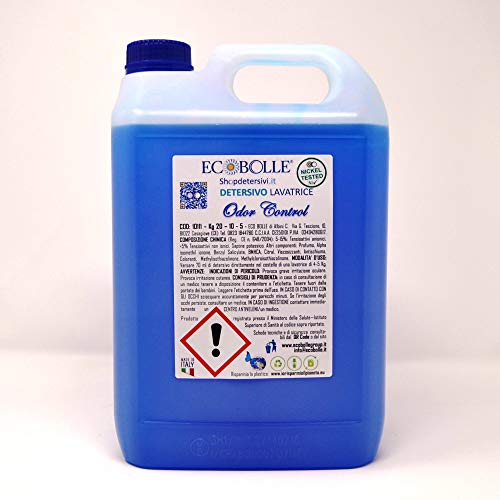 ECOBOLLE Detersivo per Lavatrice Odor Control (20KG)