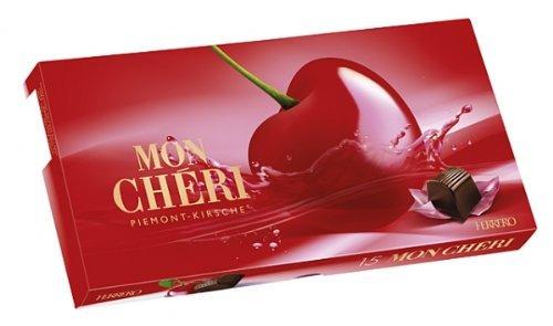 2x Mon Chéri Piemont-Kirsche Inhalt: 157g Likör-Kirsch-Pralinen