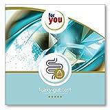 for you leaky-gut-test I zertifizierter Labor Test zur Messung des Botenstoffes Zonulin dem Wächter der Darmbarriere I Stuhlprobe Selbsttest Darm Test inkl. Handlungsempfehlungen unserer Experten