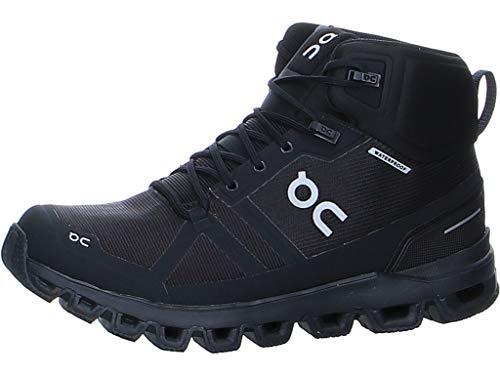 On Running W Cloudrock Waterproof Schwarz, Damen Wanderschuh, Größe EU 40.5 - Farbe All Black