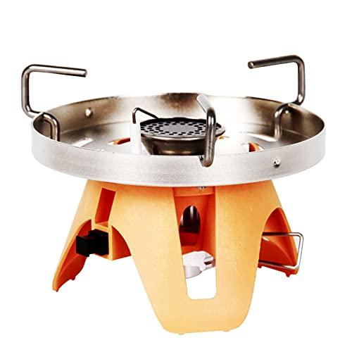 Estufa de Gas para Acampar al Aire Libre Estufas de Horno Desmontables portátiles Quemador de Gas para Picnic Barbacoa Senderismo Camping