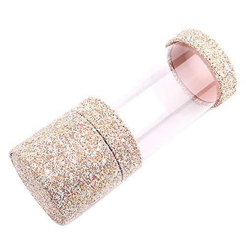 Timagebreze Porte-Pinceau de Maquillage Porte-Pinceau Anti-PoussièRe Porte-Maquillage de Etui Portable pour les Femmes Organisateur de Brosse Outils de Maquillage - Abricot