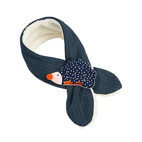 ENSTAB Winter Warm Schal Kinder Einstellbar Lgel Fluffy Baby Schal Lustige Schal Für Kinder Jungen und Mädchen 68 * 8 CM