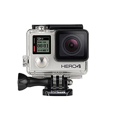 GoPro HERO4 Silver Edition Action Camcorder (Renewed)