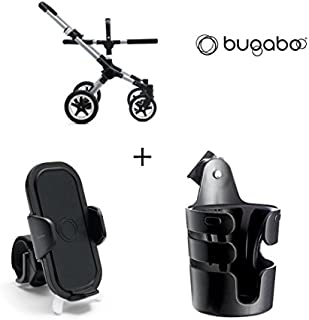 Bugaboo Buffalo Frame with Cup Holder and Phone Holder (Aluminum)