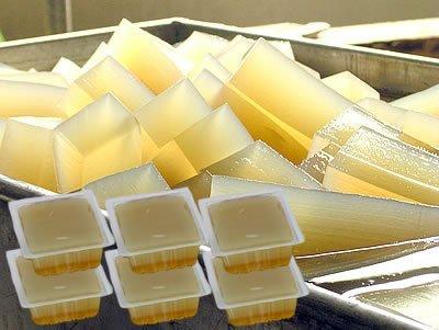 伊豆河童 柿田名水 ところてん 400g ブロック 6パック 約18人前 タレ付き 二杯酢 業務用 リピート