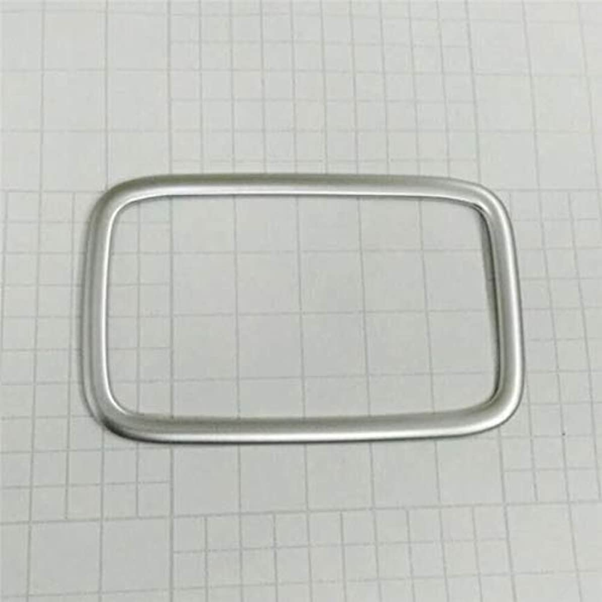 望まない伝導ハーフJicorzo - ABS Car Front + Rear Reading Light Cover Trim sticker Car Accessories Styling Fit for Hyundai Elantra Avante 2016 2017