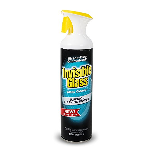 Invisible Glass 91160 Premium Glass Cleaner (with EZ Grip 19-Oz Can), Fluid_Ounces