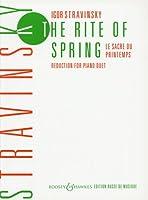 ストラヴィンスキー: 春の祭典/ブージー & ホークス社/ピアノ連弾用(1台4手)編曲