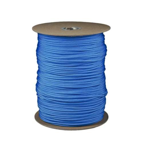 SGT KNOTS Paracord 550 Type III 7 Strand  100% Nylon Core and Shell 550 lb Tensile Strength Utility Parachute Cord for Crafting TieDowns Camping Handle Wraps Baby Blue  10 ft
