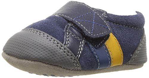 See Kai Run Baby Boys Randall II Sneaker, Navy, 7 Infant