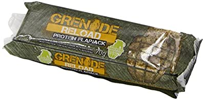 Grenade Reload Protein Flapjacks, 12 x 70 g Bars by Grenade