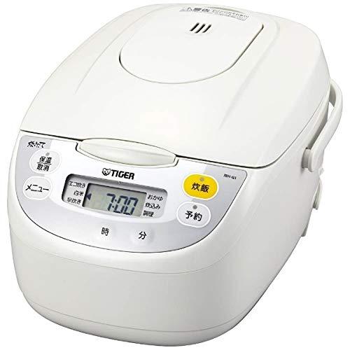 タイガー 炊飯器 マイコン エコ炊き 調理メニュー付き 炊きたて 5.5合 JBH-G101W