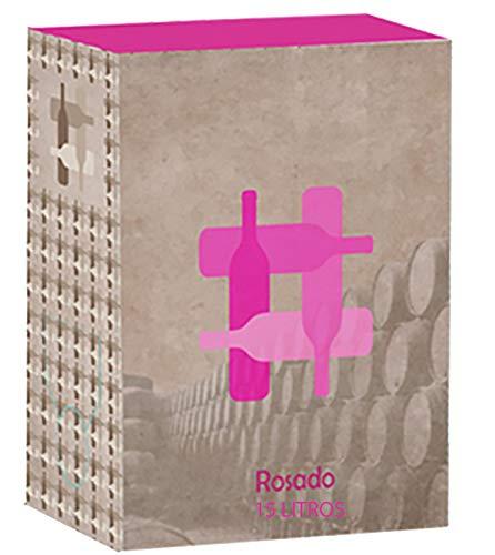 Cuatro Rayas Bag in Box Vino Rosado - 15000 ml