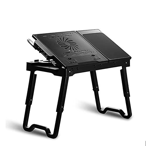 AEF Mesa Portátil Plegable para Cama, Escritorio Cama con Puerto USB, Bandeja...