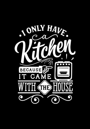 I only have kitchen because it came with the house: Blank Recipe...