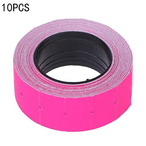 Etiketten Etiketten 20 x 12 mm, Weiß, selbstklebend, für MX-5500 Rosa
