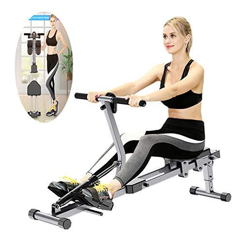 ZMMHW Máquina de Remo Plegable de Interior Equipo de Ejercicio máquinas de Fitness Gimnasio