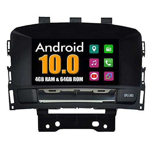 Roverone sistema Android 7 Pollici doppio DIN autoradio GPS per Opel Astra J g con navigazione radio stereo Bluetooth SD USB DVD touch screen