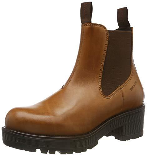 TEN POINTS Damen Clarisse Chelsea Boots, Braun (Cognac 319), 36 EU