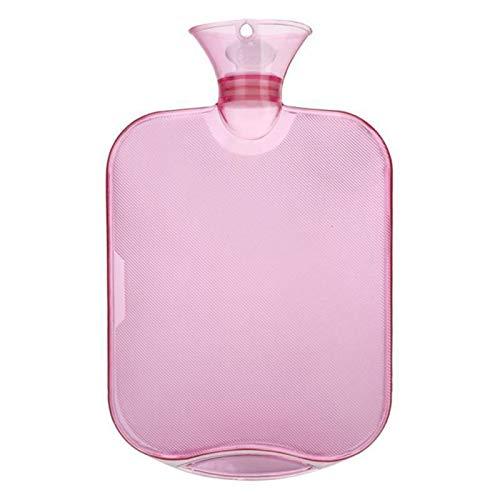 WanXingY 2000 ml de Agua de llenado de Agua Caliente Bolsas Botella Transparente de PVC Bolsas de Agua Caliente a Prueba de explosiones Grueso Agua de la Bolsa Bolsa de Agua (Color : J)