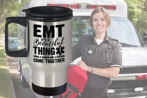 EMT taza de viaje EMT taza de café EMT personalizado regalo personalizado para EMT EMT tazas de emergencia médica técnico regalo envío gratis