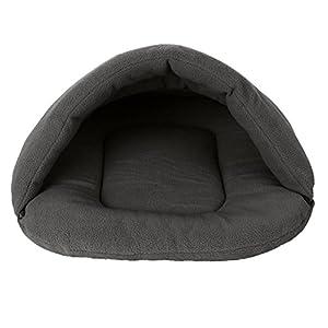 Niche sac de couchage chaud Cachemira pour animaux de compagnie de petite et moyenne taille Chien Chat Lapin
