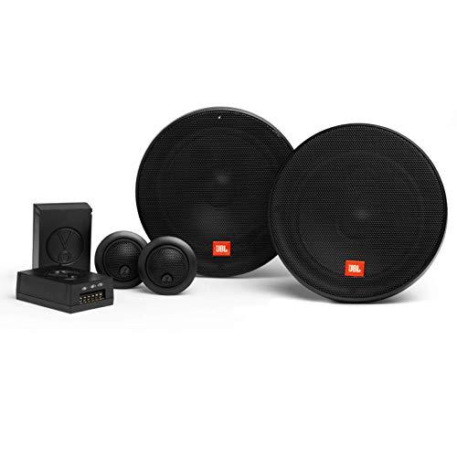JBL Stage2 604C 2-Wege Auto Soundsystem - 270 Watt Komponenten Auto Lautsprecher Boxen Set mit 160mm Einbaulautsprecher und Einbau Hochtöner