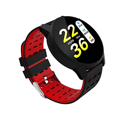 Color screen smart biker ring heart rate meter blood pressure watch sports mountain climbing photo silicone