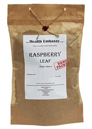 Feuille de Framboisier 50g (Rubus idaeus) Tisana / Raspberry Leaf 50g - Health Embassy - 100% Natural