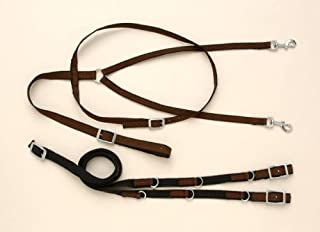 german martingale split reins