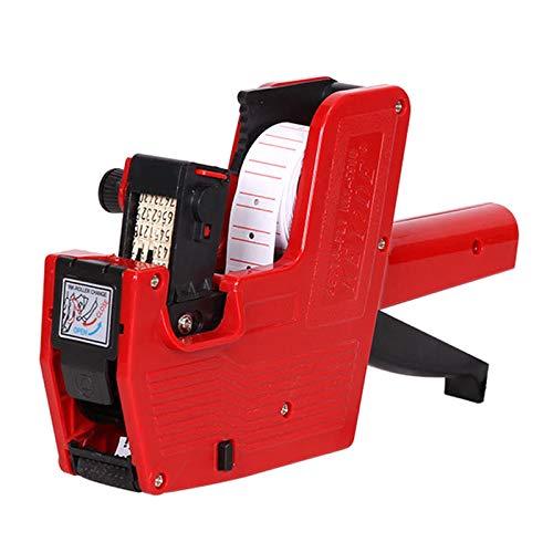 BELTI Etiquetadora de Precios de Mano MX-5500 Máquina marcadora de Etiquetas de una Sola Fila de 8 dígitos para Tienda